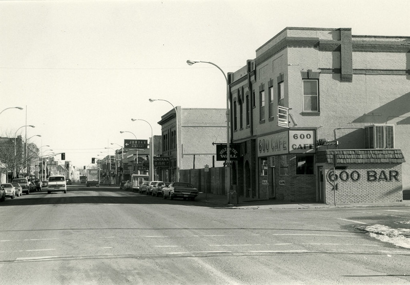 600 Block of Main Street, looking east from Main and 6th Streets.